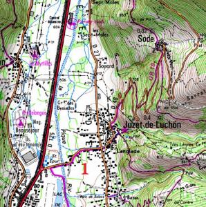 J.1 : Luchon-Cabane de Sauneres 1-298x300